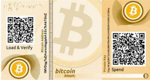 bitcoinDigitalPaperWallet